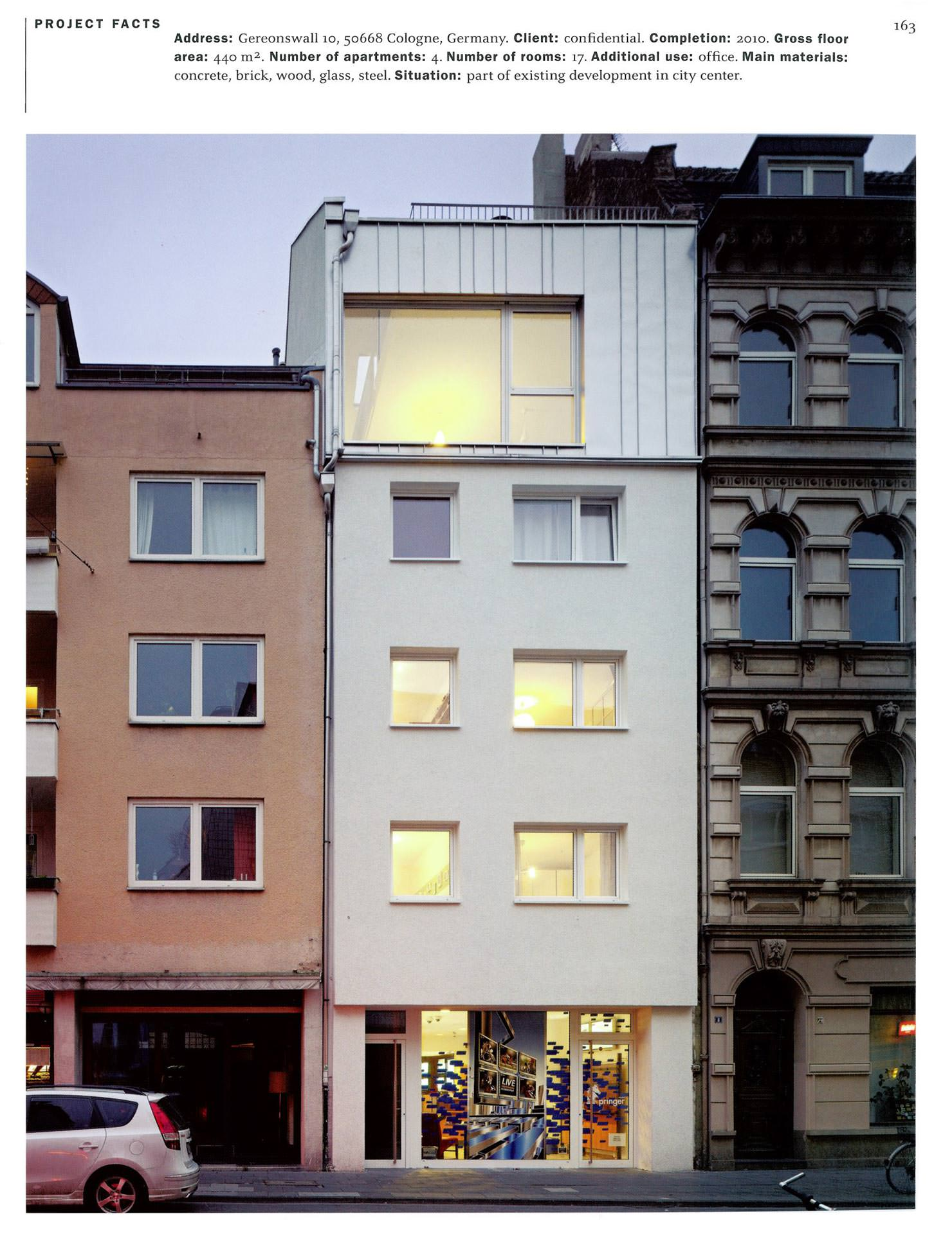 townhouse design haus holtmann cba clemens bachmann architekten m nchen. Black Bedroom Furniture Sets. Home Design Ideas