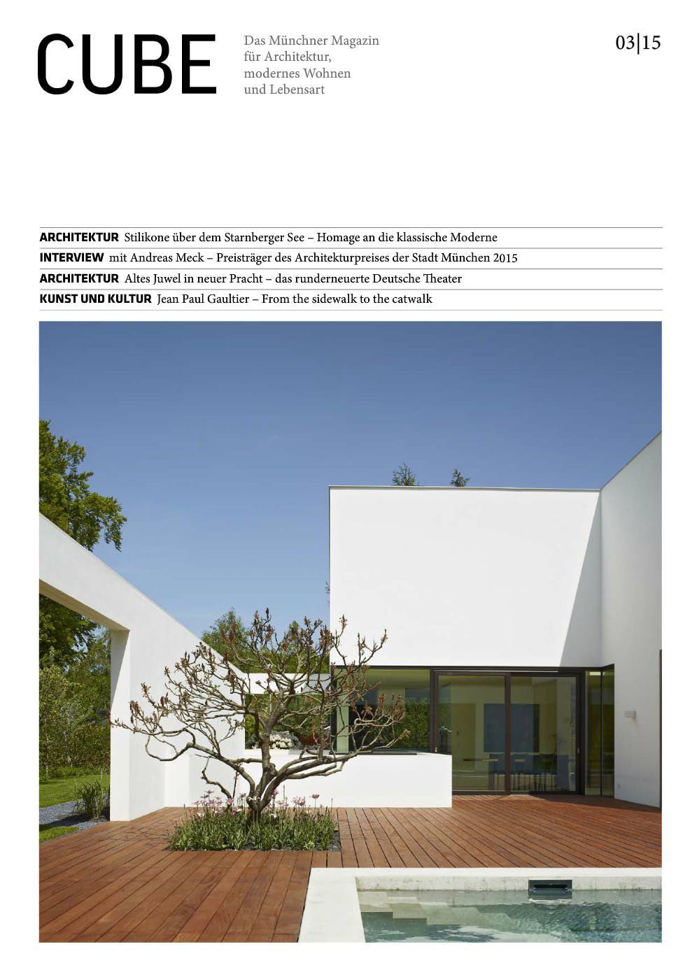 CUBE Magazine - Hauck & Aufhäuser   CBA Clemens Bachmann Architects ...