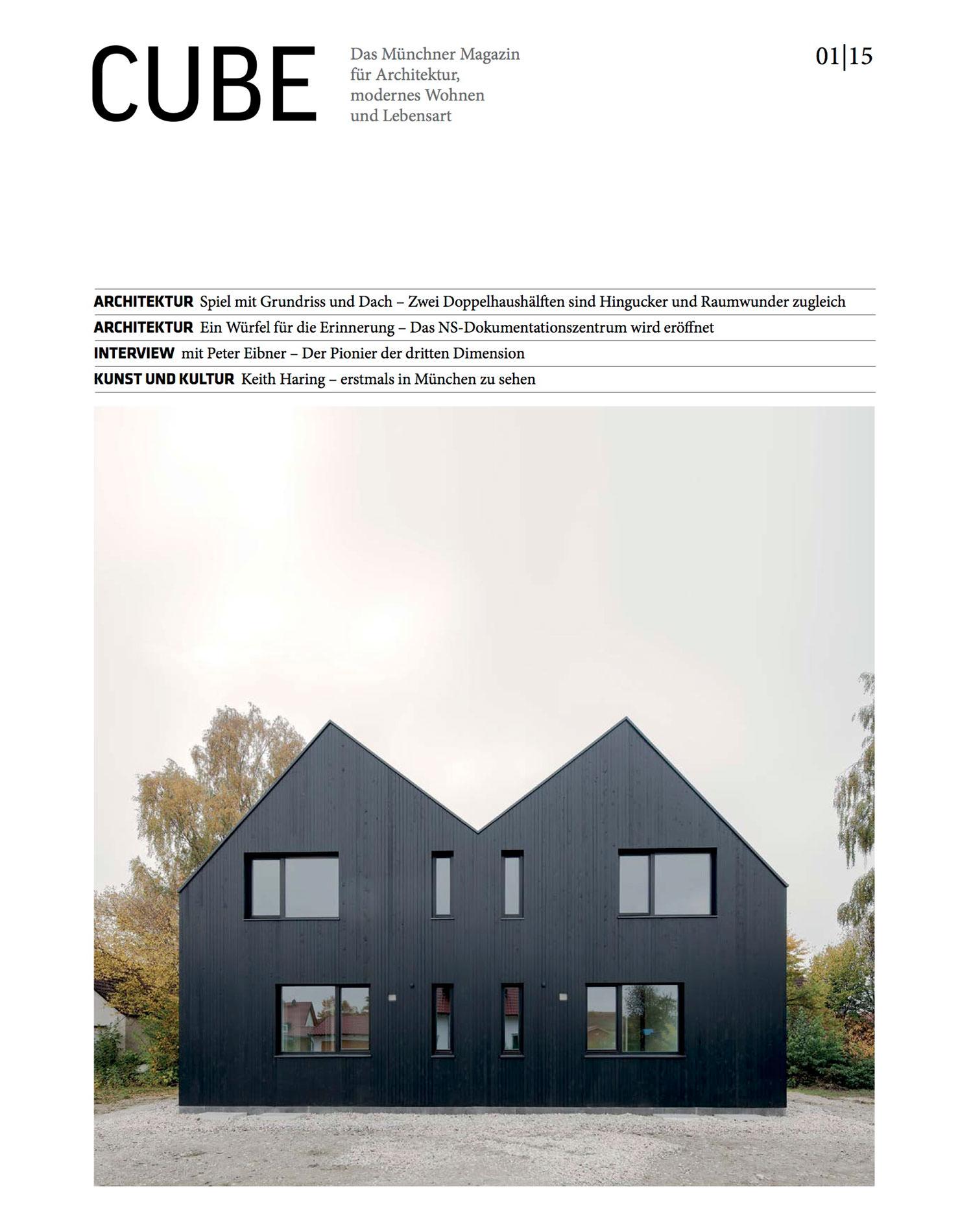 Architektur Magazin cube magazine restaurant freiraum cba clemens bachmann