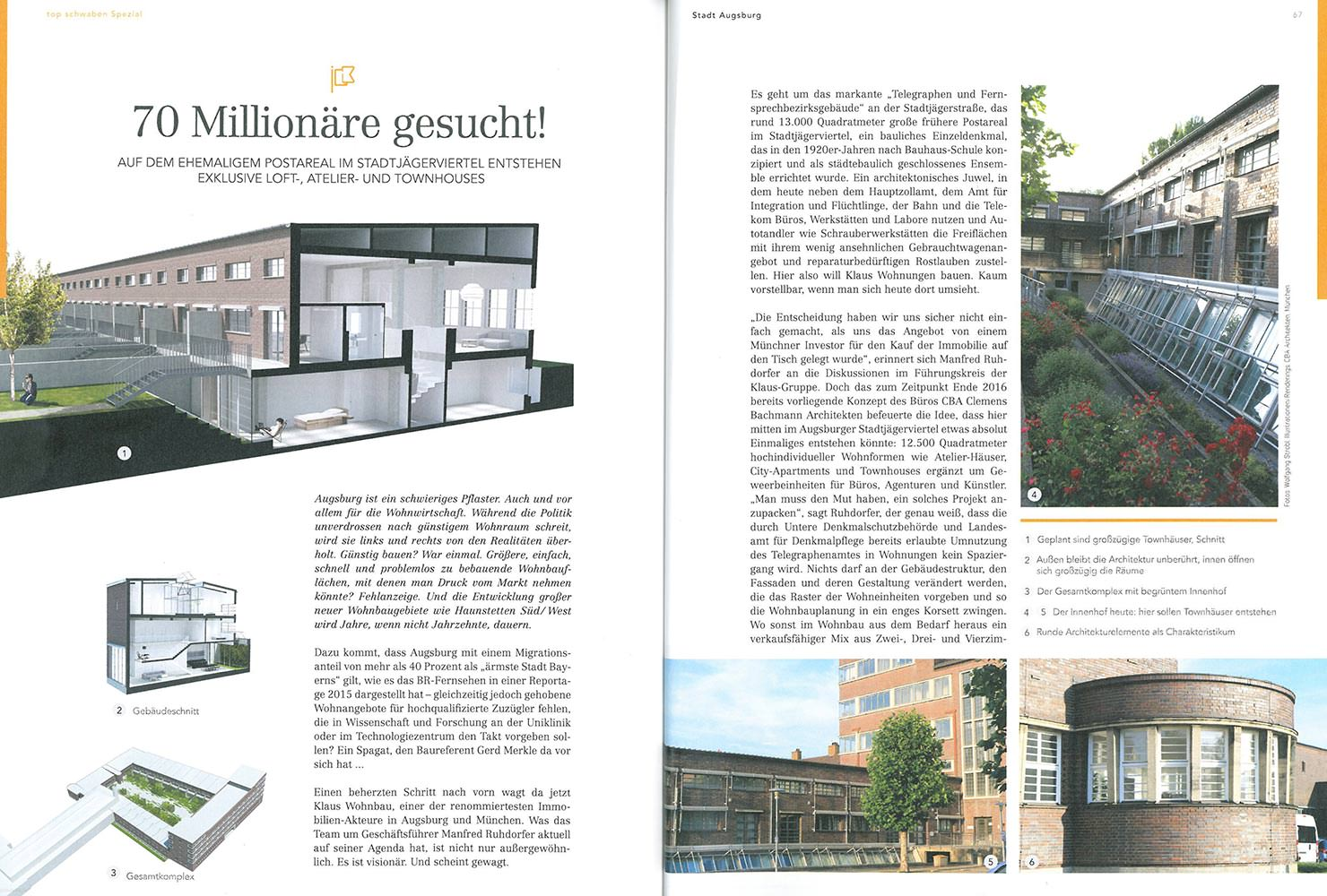 Len Augsburg top schwaben magazine telegraph office augsburg cba clemens