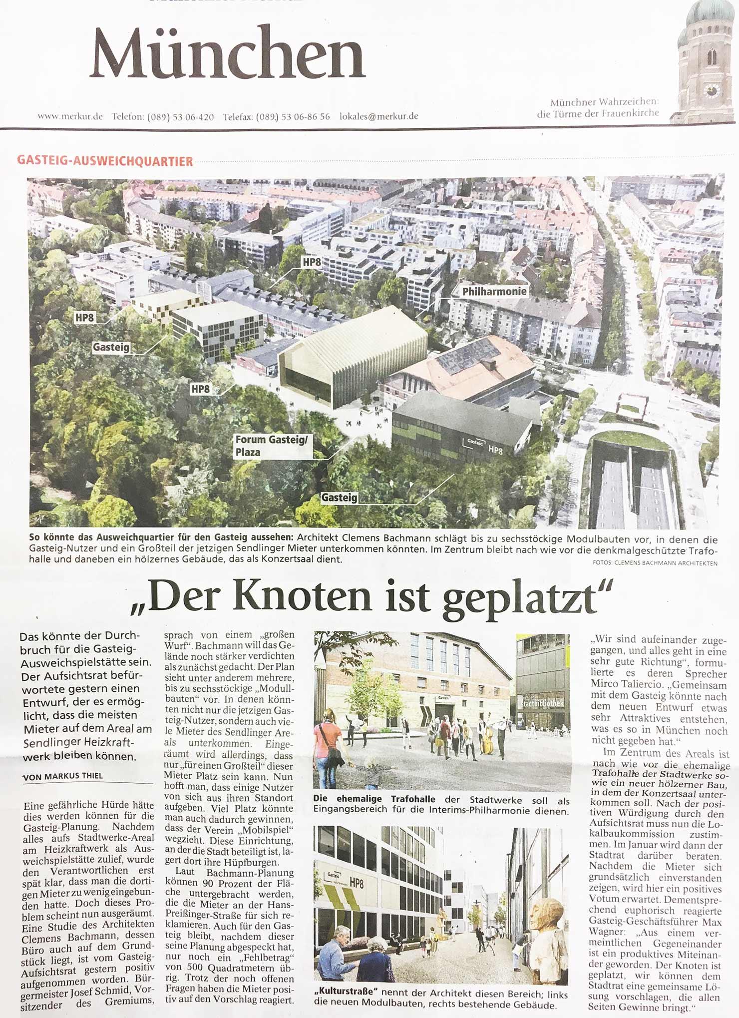 Münchner Merkur - Gasteig/HP8   CBA Clemens Bachmann ...