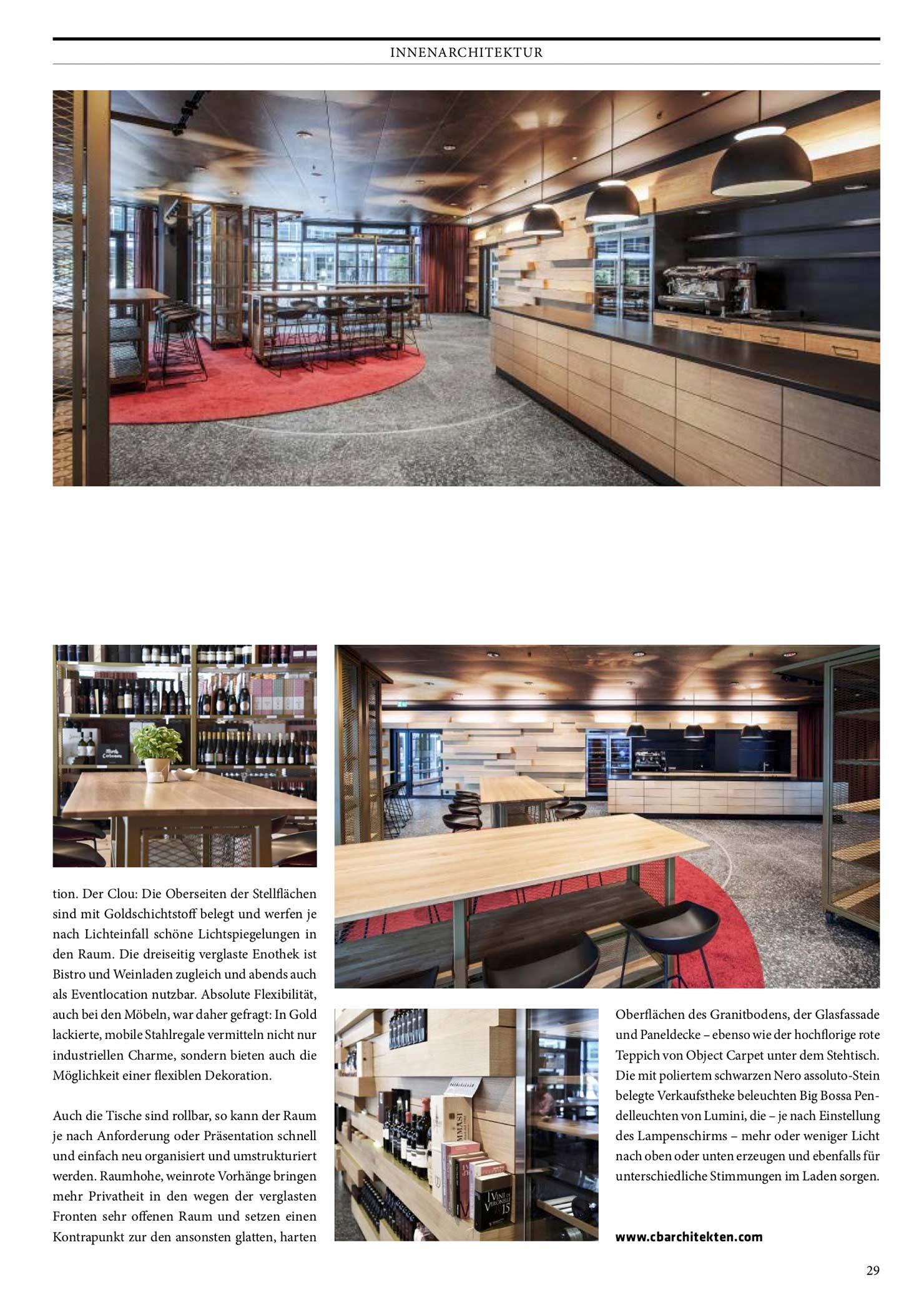 CUBE Magazin - Wine shop Brienner Strasse | CBA Clemens Bachmann ...